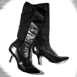 Shoes - Sexy Black Stiletto Boots